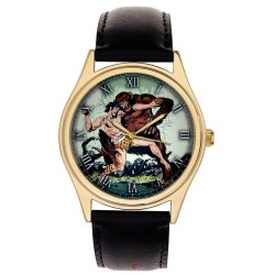 TARZAN - Edgar Rice Burroughs Original Art Collectible Wrist Watch