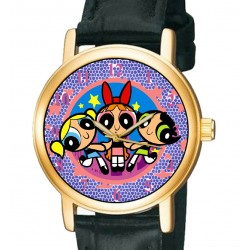 Vintage Power Puff Girls - Collectible Girls Manga Wrist Watch