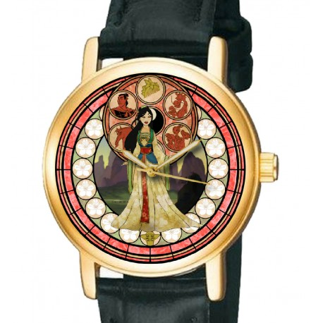 Mulan Art Wrist Watch