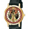 Vintage Mulan Art Collectible 30 mm Girls' / Women's Rolled Gold Wrist Watch