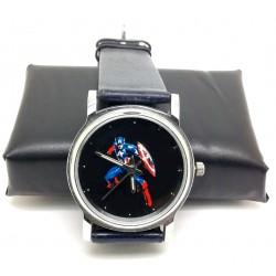 CAPTAIN AMERICA - Golden Age Comic Art Solid Brass Wrist Watch