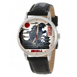 Godzilla Japanese Lithograph Print Collectible Vintage Wrist Watch.