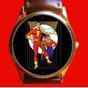 Captain Marvel - Classic Golden Age Art Wrist Watch