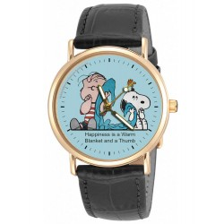 PEANUTS: Rare Linus & His Blanket Sky Blue Unisex Wrist Watch