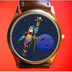 Rare Vintage Superboy Art Superman Series Collectible Wrist Watch