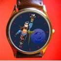 Rare Vintage Superboy Art Superman Series Collectible Wrist Watch