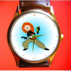 Kim Possible - Original Comic Art Collectible Wrist Watch
