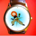 Kim Possible - Original Comic Art Collectible Wrist Watch