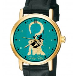 Fantastic Magic Blue Peter Pan Original Art 30 mm Collectible Wrist Watch