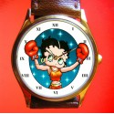 BETTY BOOP - The Boxing Babe - Collectible Wrist Watch