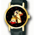 "Calvin & Hobbes Wrist Watch. Unisex. Original Bill Waterson Art "" Make a Face!"""