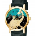The Good Dinosaur Beautiful Teal Blue Hollywood Poster Art Kids' Collectible Wrist Watch