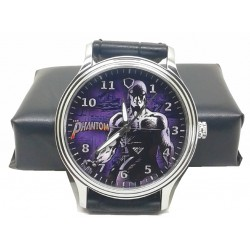 PHANTOM - The Ghost Who Walks - Deep Purple Retro Art Wrist Watch
