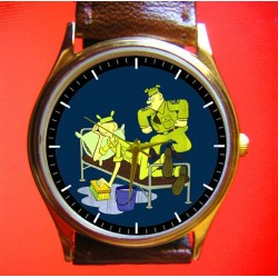 BEETLE BAILEY - Vintage Comic Strip Army Art Collectible Wrist Watch