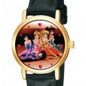 Sailor Moon - Japanese Manga Collectible Girls' Solid Brass Wrist Watch