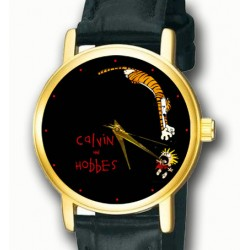 Calvin & Hobbes Contemporary Art Collectible Unisex Wrist Watch