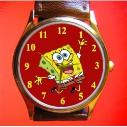 Spongebob Squarepants - Collectible Vintage Comic Art Wrist Watch