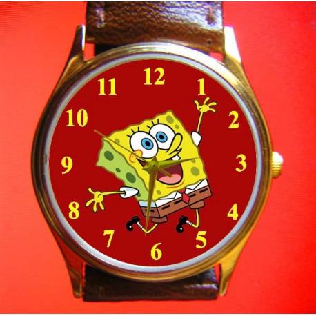 Spongebob Squarepants - Collectible Vintage Comic Art Wrist Watch