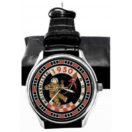 Tintin Destination Moon Collectible Wrist Watch