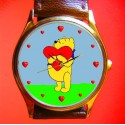 WINNE THE POOH - Hunny Valentines Collectible Wrist Watch