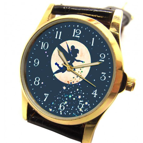 Fantastic Magic Blue Peter Pan Original Art 30 mm Collectible Wrist Watch