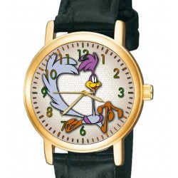 Will E. Coyote & Road Runner- Collectible Looney Tunes Comic Art Wrist Watch