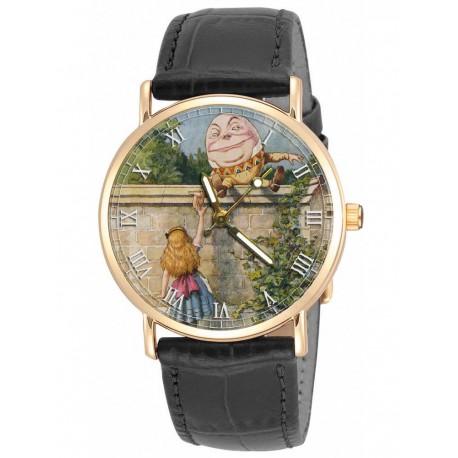Alice in Wonderland HUMPTY DUMPTY Vintage Art Collectible Wrist Watch