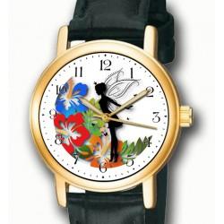 Fantastic Tinker Bell / Tinkerbell Girls' Fairy Art Collectible Wrist Watch