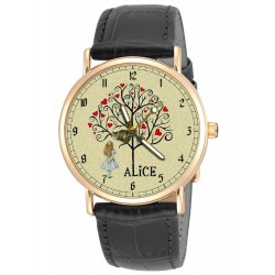 Vintage Alice in Wonderland 30 mm Collectible Wrist Watch