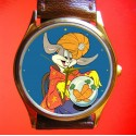 BUGS BUNNY - Crrystal Ball Carrot - Collectible Looney Tunes Wrist Watch