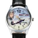 Wings For Victory Vintage Raf Aviation WW-II Art Hawker Hurricane Wrist Watch