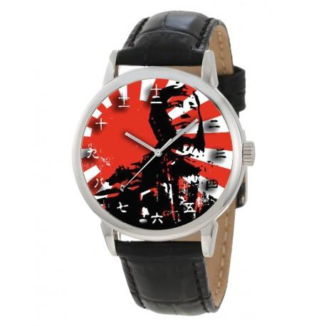 Tribute to Hiroyoshi Nishizawa Japanese Zero Fighter Ace Wrist Watch. 西澤 広義 日本の第二次世界大戦の戦闘機のパイロットのエース。記念腕時計 …