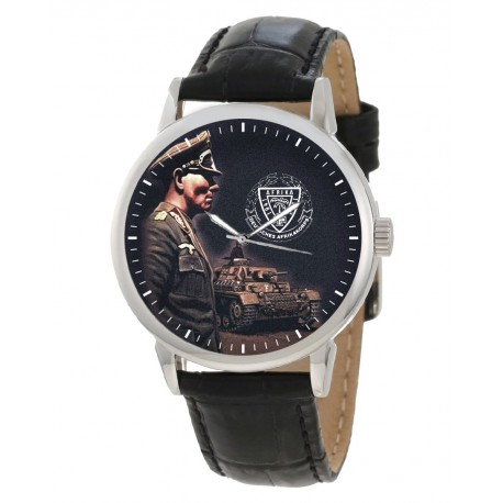 WW-II Germany Wehrmacht Afrika Korps Erwin Rommel Desert Fox Collectible Wrist Watch