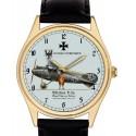 Vintage D.III Albatros Biplane Luftstreitkräfte Germany WW-I Aviation Art 40 mm Solid Brass Wrist Watch