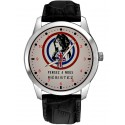 Vintage WW-2 French Resistance Recruitment Marianne Poster Art Collectible Watch