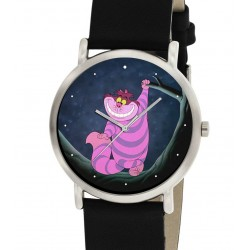 Alice in Wonderland Lewis Carroll Original Cheshire Cat Art Collectible Wrist Watch. 30 mm
