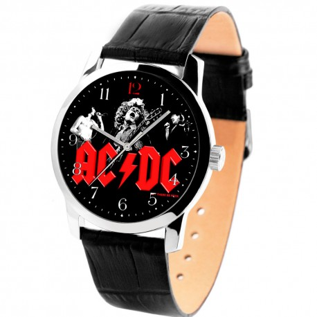 AC DC Heavy Metal Concert Art Collectible Wrist Watch