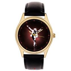 "Michael Jackson, The Anti-Christ Pose - ""King of Pop"" Comemmorative Wrist Watch"