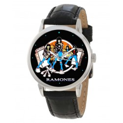 The Ramones! Collectible Punk Art Large Format Wrist Watch