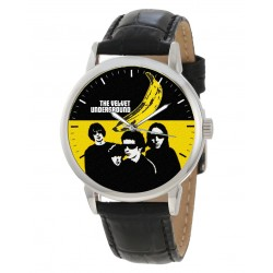Psychedelic Rock Art Velvet Underground Collectible Warhol Art Wrist Watch