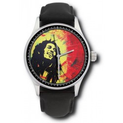 Bob Marley Collectible Rastafarian Art Comemmorative Wrist Watch