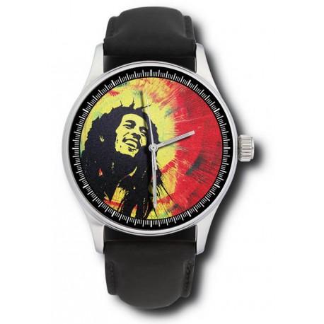 Bob Marley Collectible Rastafarian Art Comemmorative Wrist Watch