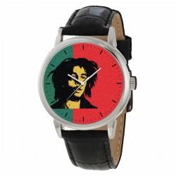 Classic Bob Marley Reggae Rastafarian Art Commemorative Wrist Watch