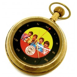 THE BEATLES - Sergeant Pepper's Lonely Hearts Club Band Pocket Watch