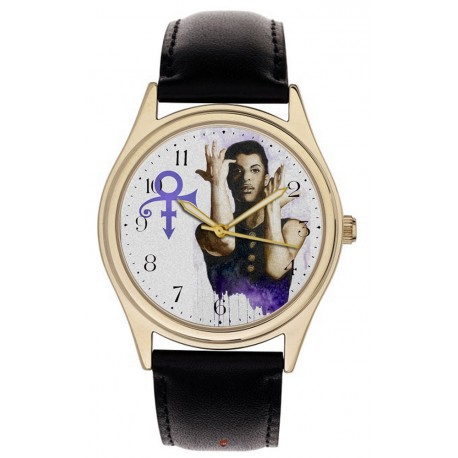 Prince Rogers Nelson Purple Sign of the Times Wrist Watch