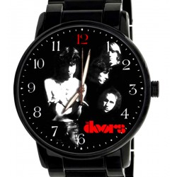 The Doors Beautiful Black Collectible Rock Art Wrist Watch
