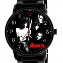 The Doors Beautiful Black Collectible Rock Art Wrist Watch