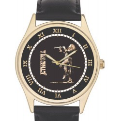 Jethro Tull. Ian Anderson Concert Art Collectible Wrist Watch. Aqua,