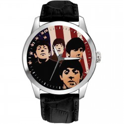 Warholesque The Beatles in America Collectible Wrist Watch