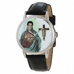 ELVIS PRESLEY -  Cult of Elvis -  Blasphemous Elvis as Christ Wrist Watch